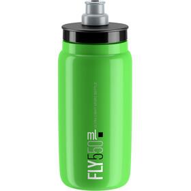 Elite Fly Trinkflasche 550ml grün/schwarzes logo